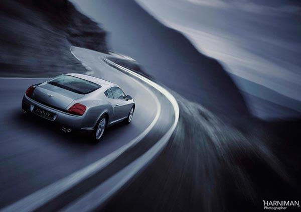 Bentley Continental Launch Image