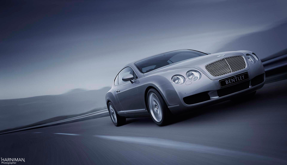 Bentley, Breitling and the cloak and dagger world of the Continental GT