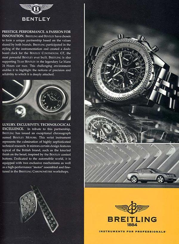 Breitling Press Ad