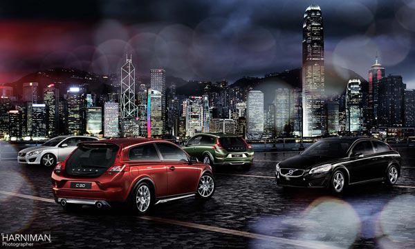 Kowloon Bay, Volvo C30 Hong Kong