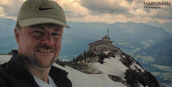 Me with the Eagle's Nest in background