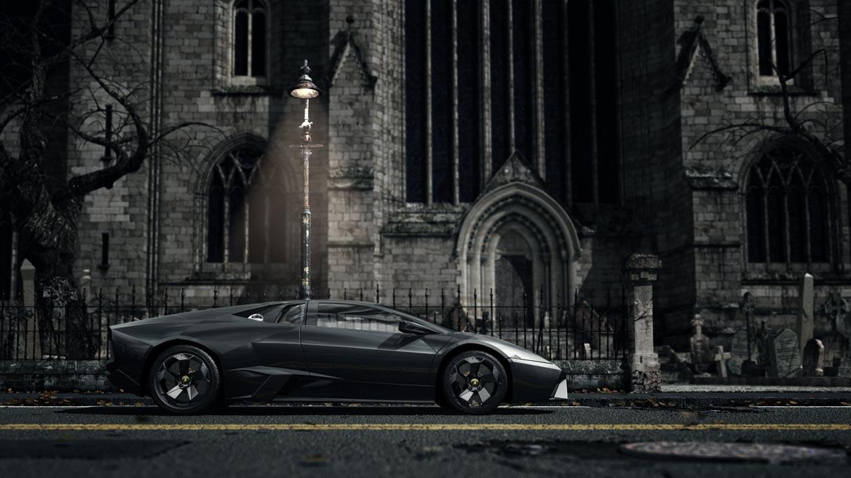 How a joy riding skeleton in a Lamborghini Reventon helped us win the Deus Ex: Human Revolution job