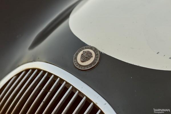 Penny Woodley's Jaguar C Type