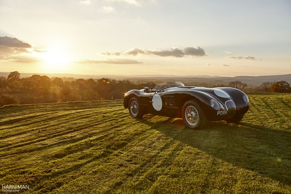 Penny Woodley's Jaguar C Type