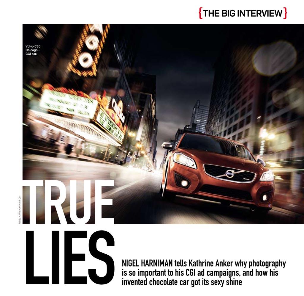 My big Interview in Professional Photographer Magazine: True Lies