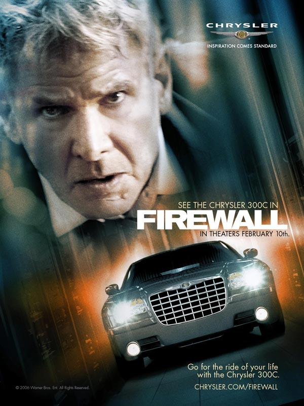 Firewall, Harrison Ford