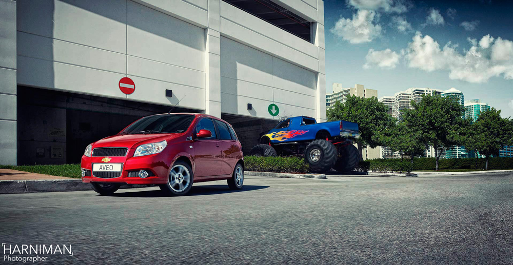 The Chevrolet Aveo; small is the new big