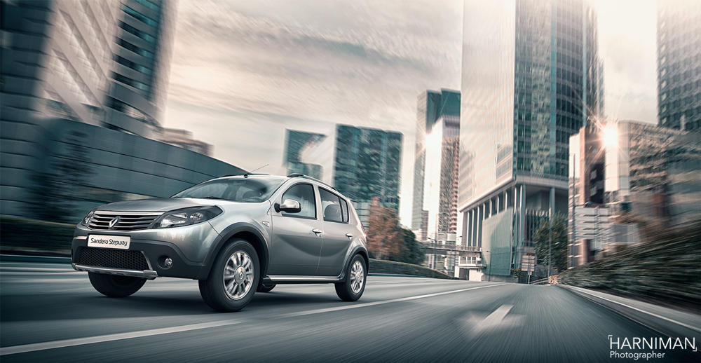 The Renault Sandero Stepway – to Russia with gloves