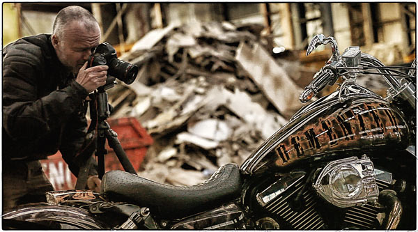 Making of Demented, the custom Kawasaki