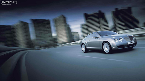 Bentley Continental Finished Image