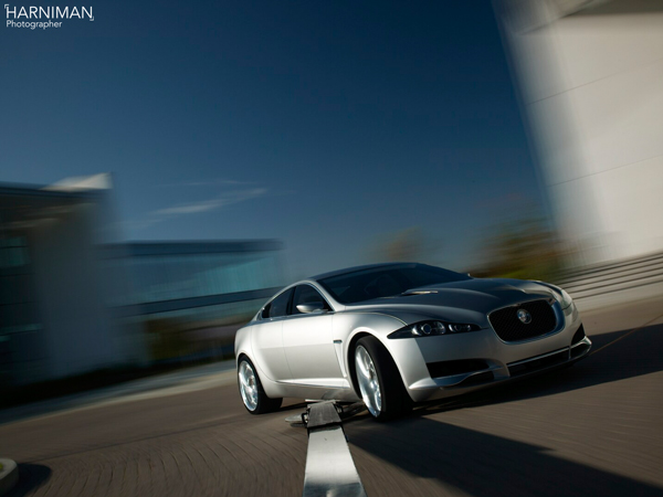 Jaguar C-XF photo shoot