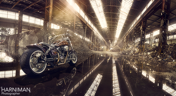 Demented, the custom Kawasaki, final image