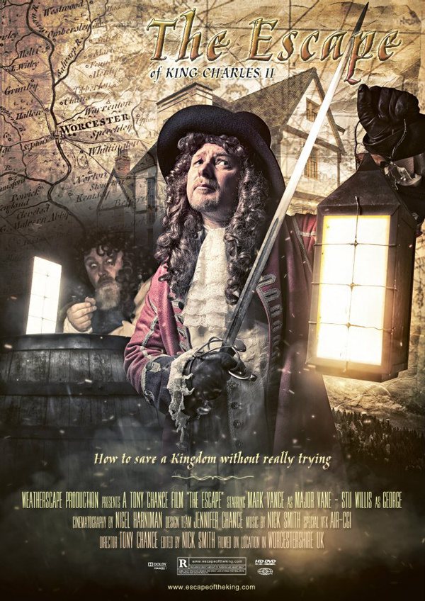 The Escape of King Charles II Poster