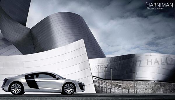 Audi R8, LA