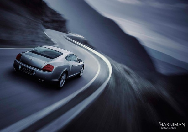 Bentley Continental GT launch