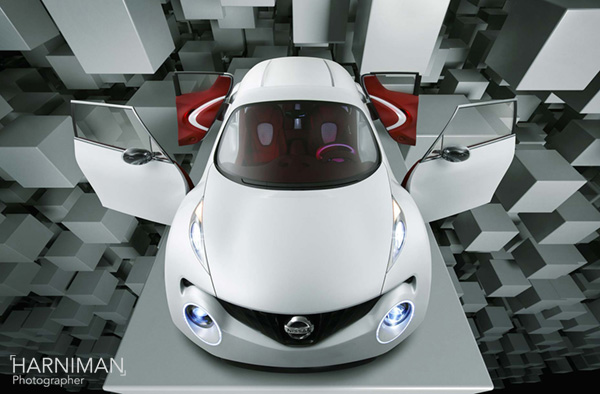Nissan Qazana concept - studio shoot & CG blocks