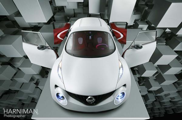 Nissan Qazana concept - studio shoot & CG blocks