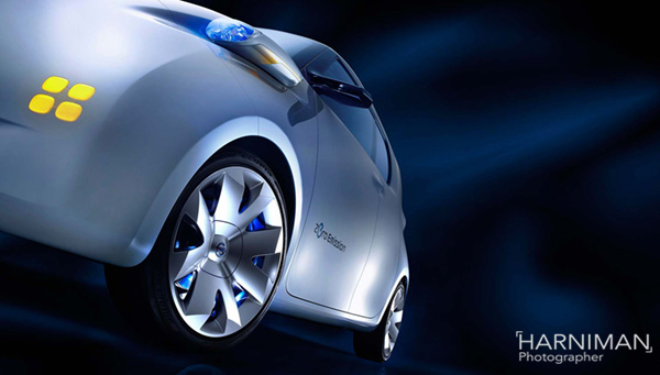 Nissan Townpod concept studio shoot