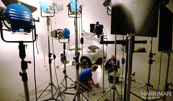 Nissan Qazana Concept studio shoot