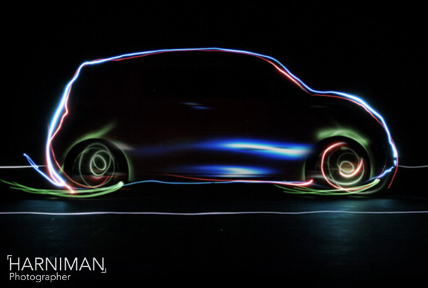 Nissan Townpod concept animation still