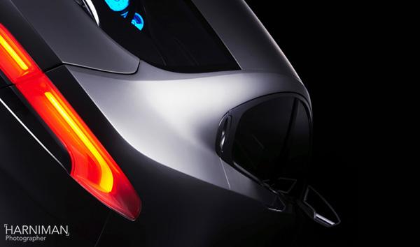 Jaguar C-XF Prototype studio shoot