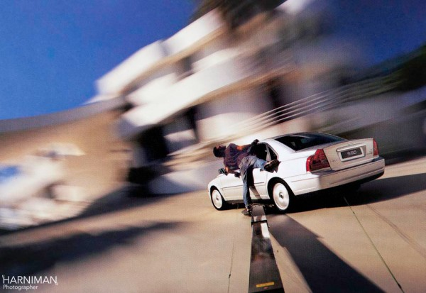 Volvo, LA photo shoot