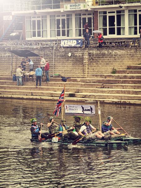 Charity Raft Race - Arley, Stourport