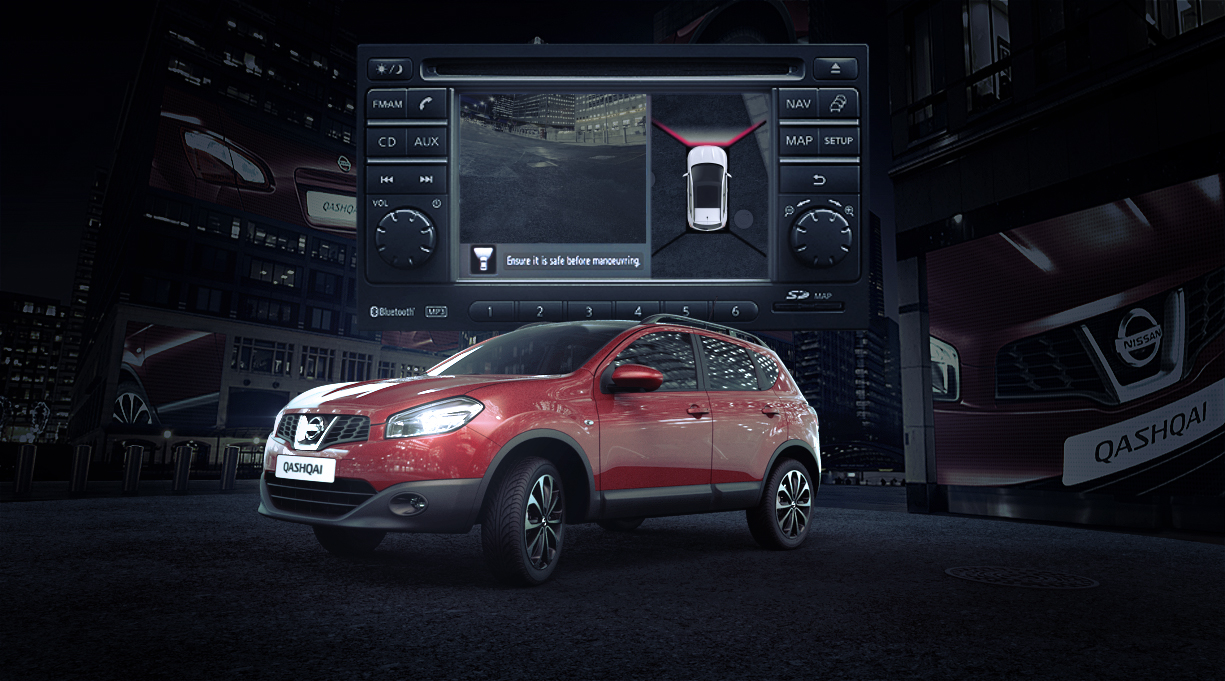Nissan Qashqai – discovering the 360 Around View Monitor