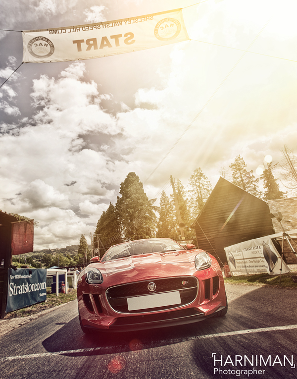 Jaguar F-Type at Shelsley Walsh