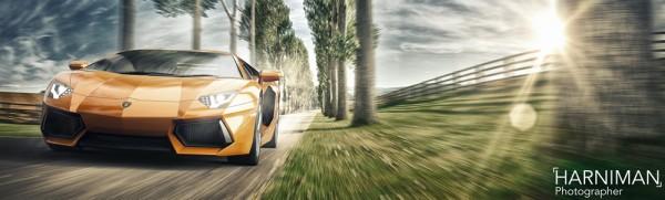 Lamborghini Aventador, Shelsley Walsh Hill Climb