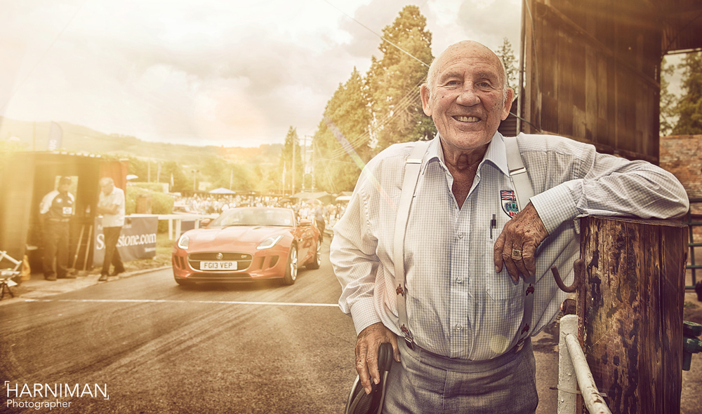 Sir Stirling Moss, Jaguar F-Type, Back in the saddle at Shelsley Walsh Hill Climb
