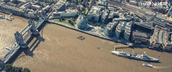 London, Helicopter view