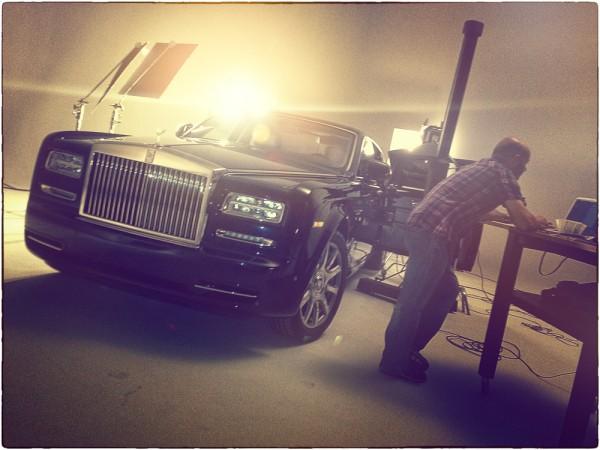 Rolls Royce Celestial Phantom studio