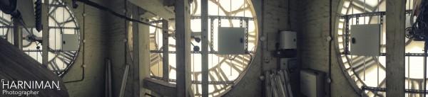 Inside King's Cross Clock Tower