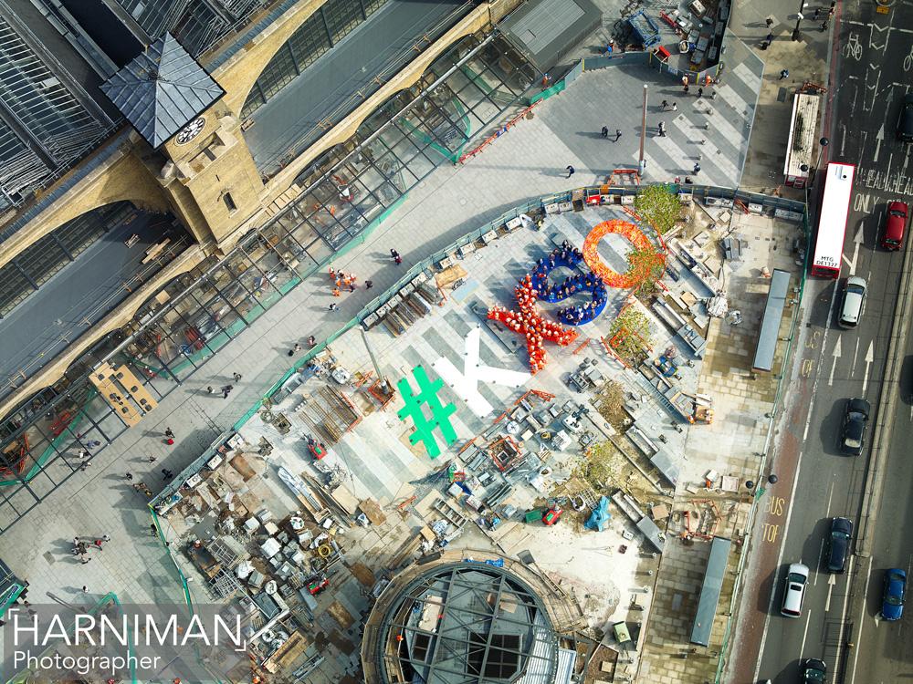 #KXSQ marks the spot – Big Bird over King's Cross Square