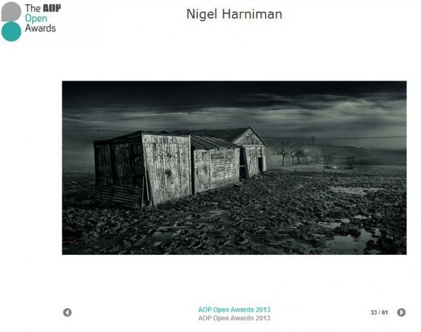 Harniman Photographer AOP Open Awards 2013