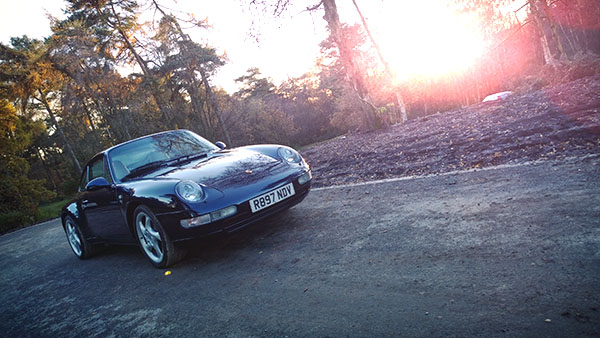 Static reference image Porsche 933 in location