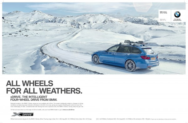 BMW XDrive 2014 press ad