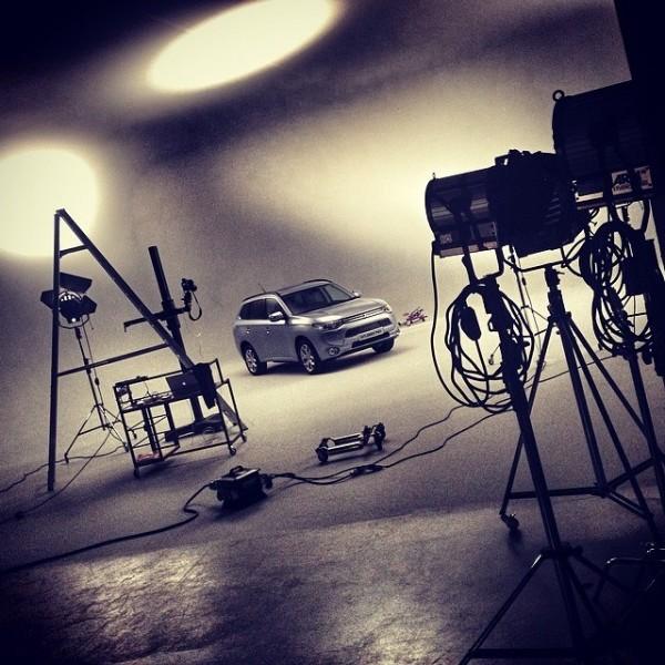 BTS in the studio