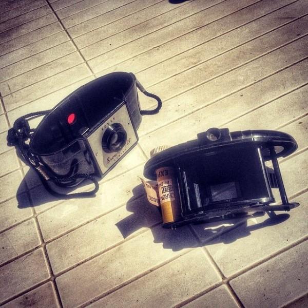 Kodak Brownie 127 and Kodak Panchromatic film