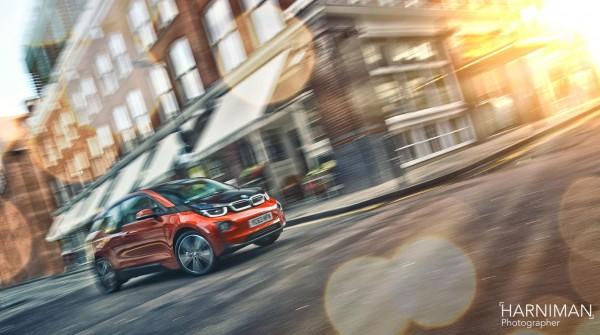 BMW i3 Shoreditch London