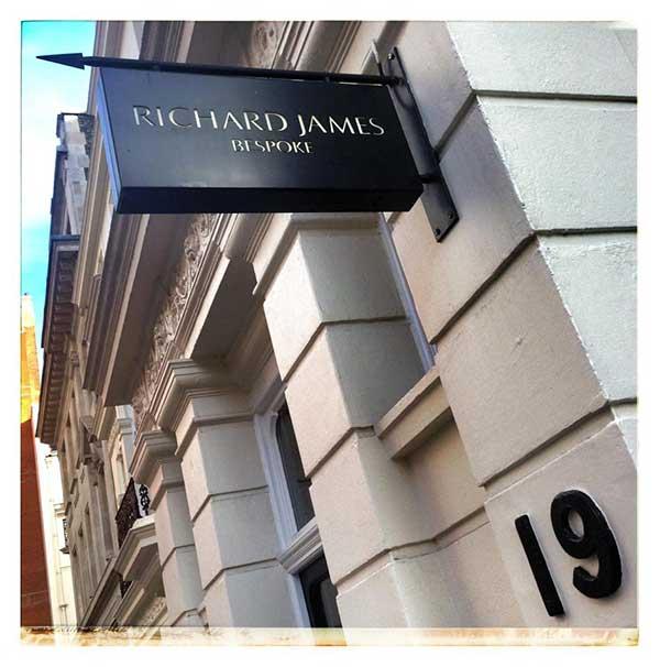 Richard James Savile Row London