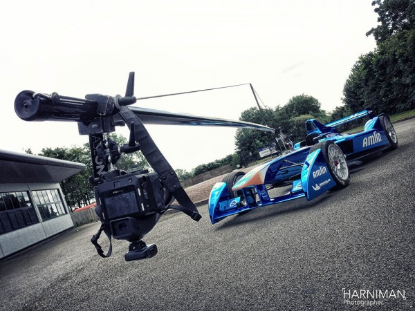 Formula E Phase One and Car Camera Rig