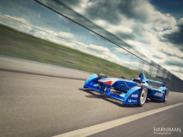 Amlin Aguri Formula E Rig shot