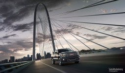 GMC Sierra location shoot Dallas