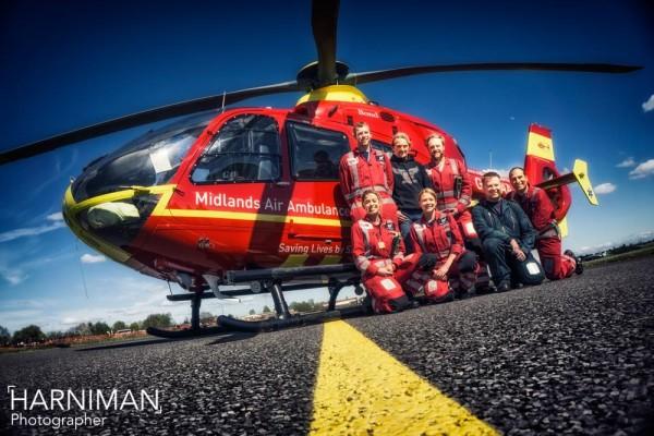 Midlands Air Ambulance Charity Bike4Life Fest 2015