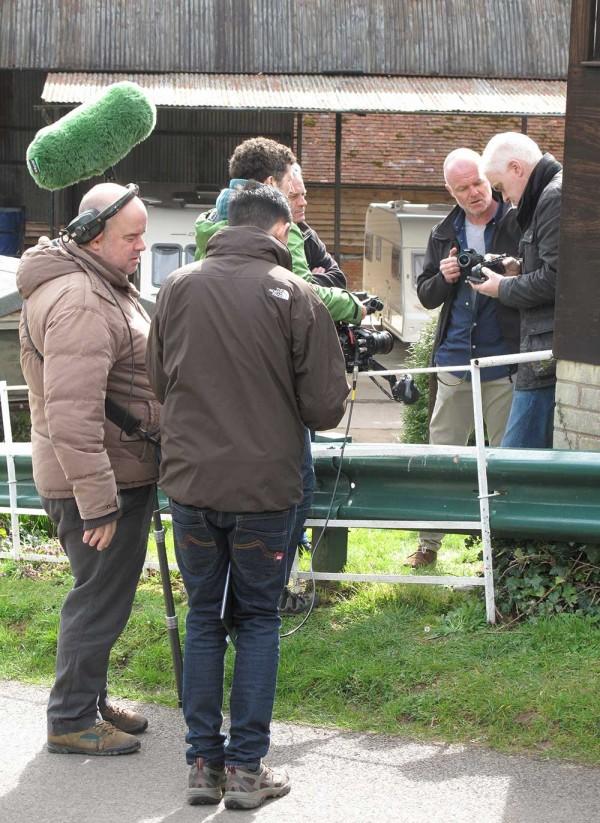 The Gadget Show Crew - John Bentley & myself compare cameras