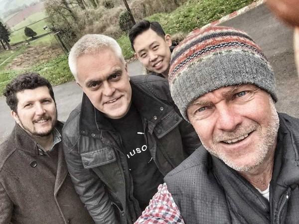 The Gadget Show Crew - John, Tom, Steve & myself