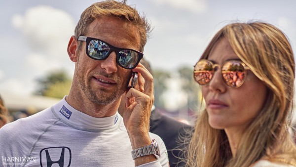 Jenson and Jessica Button at Goodwood FOS 2015