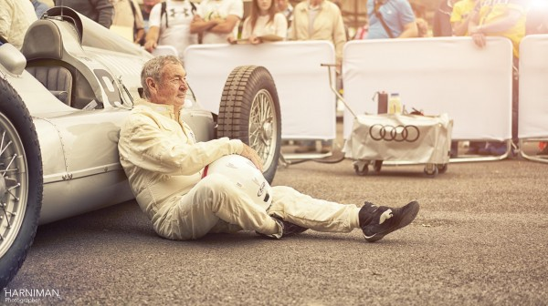 Nick Mason of Pink Floyd Audi Goodwood FOS 2015